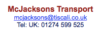 McJacksons Transport